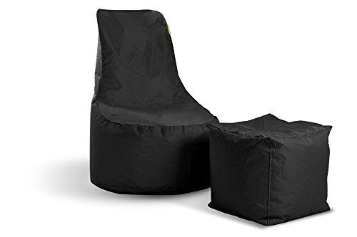 EasySitz Sitzsack Outdoor Wasserfest Indoor Gaming für Jungen und Erwachsene Sessel Sitzkissen...
