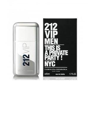 212 VIP This Is A Private Party POUR HOMME par Carolina Herrera - 50 ml Eau de Toilette Vaporisateur