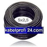 Erdkabel Installationskabel NYY-J 5x2,5mm² 25m Ring