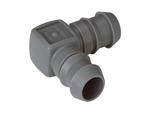 Gardena 1312226 Jonction en L, Noir, 13 mm