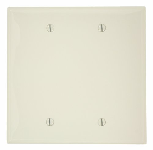 leviton-pj23-t-2-gang-no-blank-wallplate-midway-size-light-almond-by-leviton