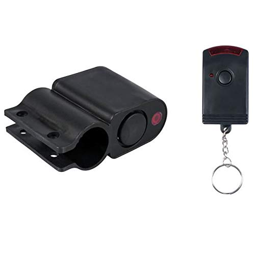 FISHTEC ® Alarma de Bicicleta Inalámbrica con Control Remoto - 110 dB