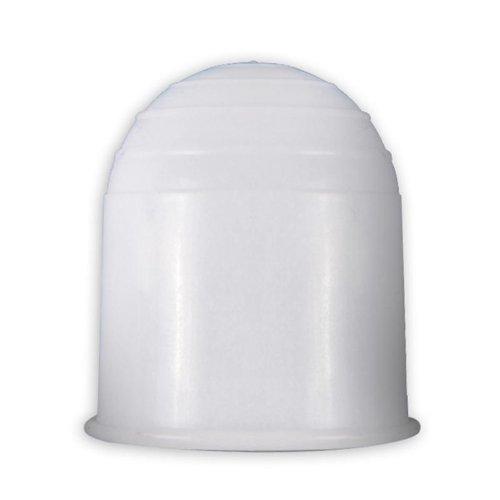 Auto KFZ Autoanhänger Anhängerkupplung Abdeckkappe Kappe für Anhänger Kupplung Weiß