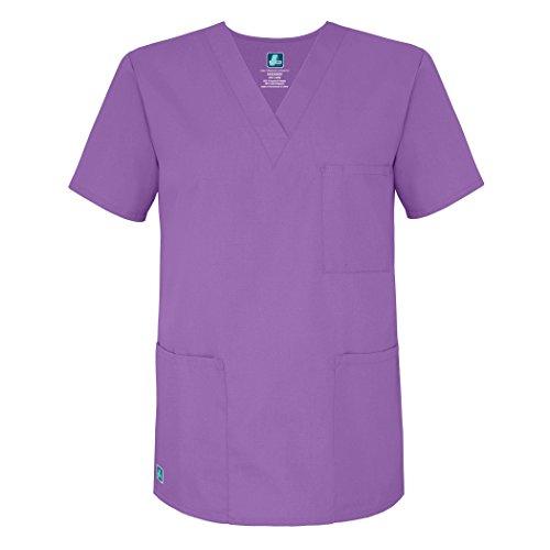 Medizinische Uniformen Unisex Top Krankenschwester Krankenhaus Berufskleidung 601 Color Lav | Talla: M