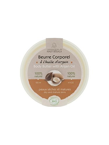 Beurre corporel à l'argan bio 120 ml