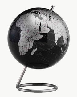 Spectrum 6' Slate Grey World Globe