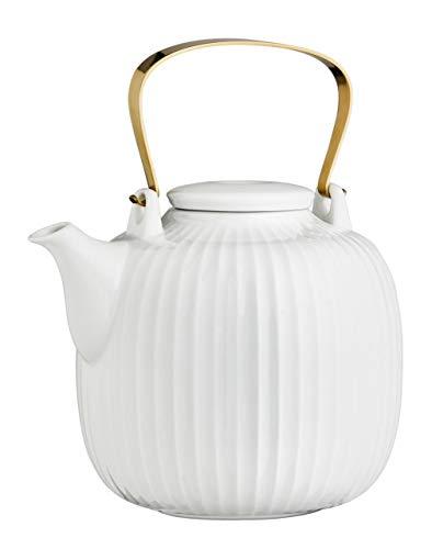 Kähler Hammershoi Teekanne, Porzellan, 14.5 cm