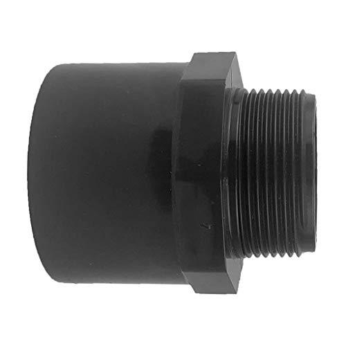 """10 Stück PVC Klebefitting 50mm Übergangsnippel Sechs-//Achtkant 63//50x1 1//2/"""""""