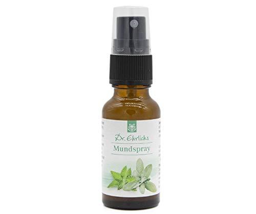 Dr. Ehrlichs Mundspray - für eine gesunde Mundflora und einen frischen Atem - langanhaltend - auch für unterwegs geeignet - Für Männer und Frauen -