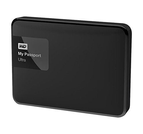 "WD My Passport Ultra - Disco duro externo portátil de 1,5 TB (2.5"", USB 3.0), color negro"