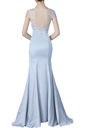 Promgirl House Damen 2017 Spitze Abendkleider Ballkleider Hochzeitsparty Brautmutterkleider Lang mit Jacke Gelb