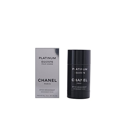 Chanel Platinum Egoiste Men, Deodorant Stick, 1er Pack (1 x 75 ml)