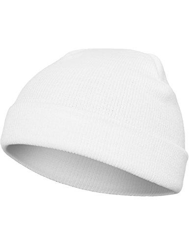 Flexfit Mütze Heavyweight Beanie, white, one size, 1500KC-00220-0050 - Weiße Standard-haube