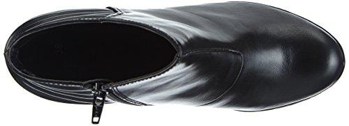 Bugatti V4830pr6n, Bottines avec doublure intérieure femme Noir - Noir