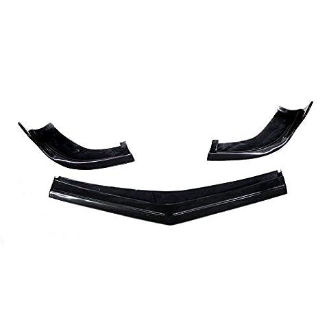 JCSPORTLINE Carbon Fiber Front Lip Splitters for Mercedes Benz CLS-Class