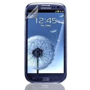 6 x Films de protection d'écran pour Samsung GT-i9300 Galaxy S3 III - Résistant aux éraflures / Display Protective Film