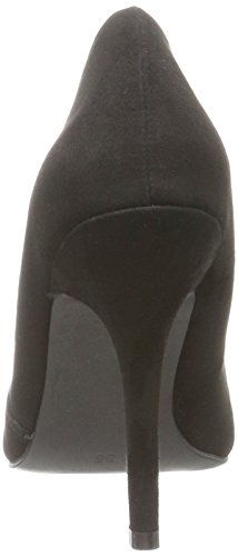 Bianco Basic Loafer Pump Djf16, Escarpins femme Noir (Black 10)