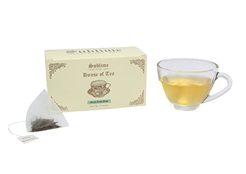 Sublime House Of Tea -green Long Ding (25 Pyramid Tea Bags)