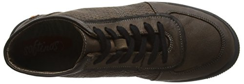 Softinos Inu343sof, Sneakers Hautes femme Marron - Brown (Coffee)