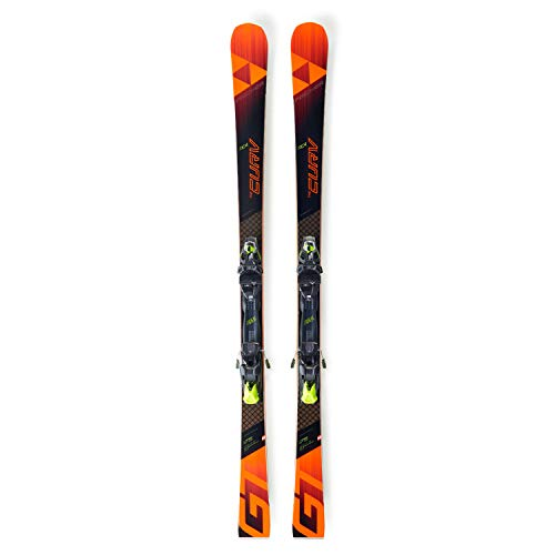Fischer RC4 The Curv GT RT 18/19 - Slalom Carving Ski +MBS 13 RC4 PR Bindung - A08118, Länge:168cm