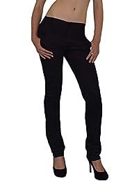 Damen Hose grader Schnitt mit einem modernem Muster Gr. S - XXXL