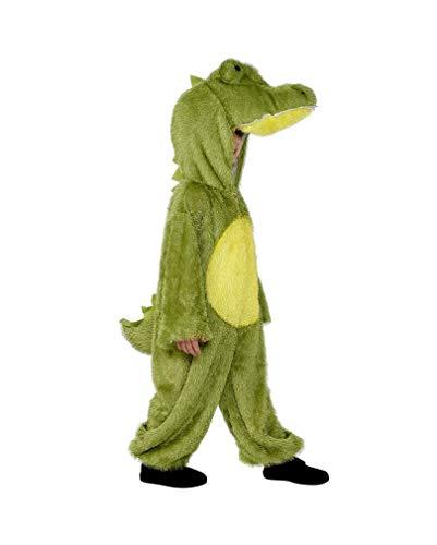 Horror-Shop Grünes Krokodil Kostüm für Kinder S 115-128 (Hunger Games Kinder Kostüme)