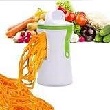 Hochleistungs-Spiralschneider für Gemüse-Nudeln und Julienne-Spiralen, Kreieren gesunder, kohlehydratfreier, glutenfreier, köstlicher Speisen nach der Paleo-Diät!