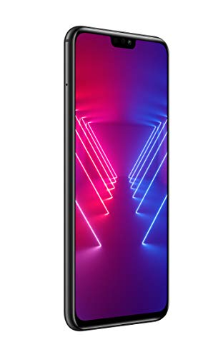"Honor View 10 Lite Smartphone، أسود، 128GB Memory، 4GB RAM، 6.5 Display ""FHD +، Double AI Camera 20 + 2MP [إيطاليا]"