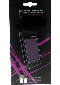 Set da 2 proteggi-display per Sony Ericsson XPERIA PLAY: trasparente e un effetto specchio