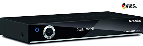 TechniSat TECHNICORDER SC Digital-Kombi-Receiver mit erweiterbarem Doppel-Quattro-Tuner, Festplatten-Slot, integriertem WLAN und ISIO-Internetfunktionalität, schwarz