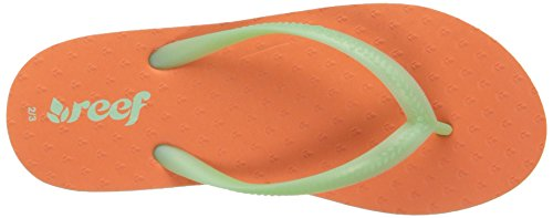 Reef Little Chakras, Tongs Fille Multicolore - Varios colores (Coral / Mint)