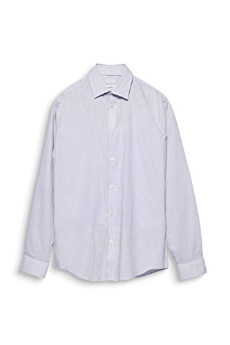 ESPRIT Collection Camicia Formale Uomo Blu (Blue 430)