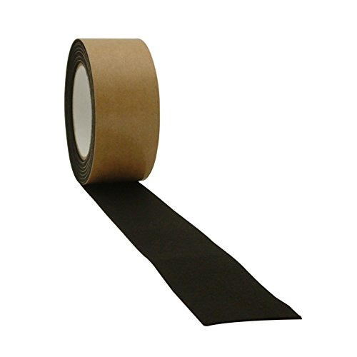 J.v. Converting felt-06 Polyester Filz Tape 2 In. X 15 Ft. schwarz -