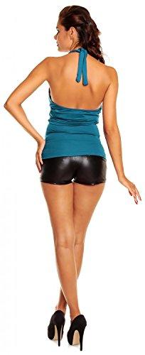 Zeta Ville - maternité - top grossesse - t-shirt grossesse - d'été - femme -167c Aqua