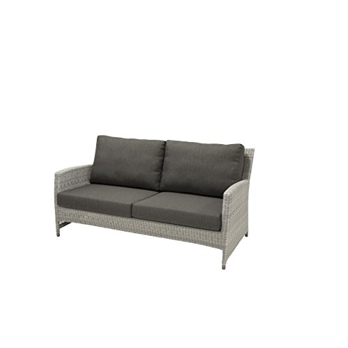 4Seasons Outdoor Castillo Lounge-Sofa 2.5-Sitzer Polyrattan Ice Wicker