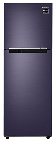 Samsung 253 L 4 Star Frost-free Double Door Refrigerator (RT28M3044UT, Pebble Blue)