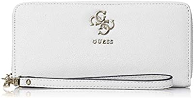 Guess - Digital Slg Large Zip Around, Mujer, , 21x10x2 cm (W x H L)