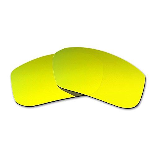 2371afcb33 HKUCO Mens Replacement Lenses For Spy Optic McCoy Sunglasses 24K Gold  Polarized