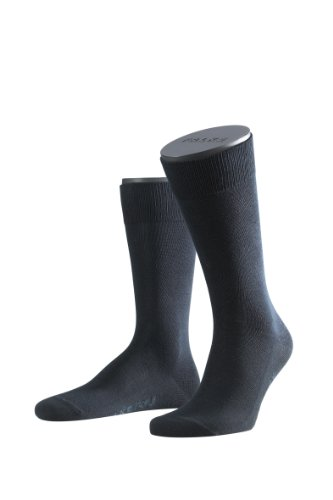 FALKE Men's Family Calf Socks 14645 Blau (dark navy 6370)