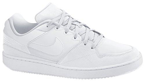 Nike Men'Priorität s Low Schuhe Weiß (White/White)