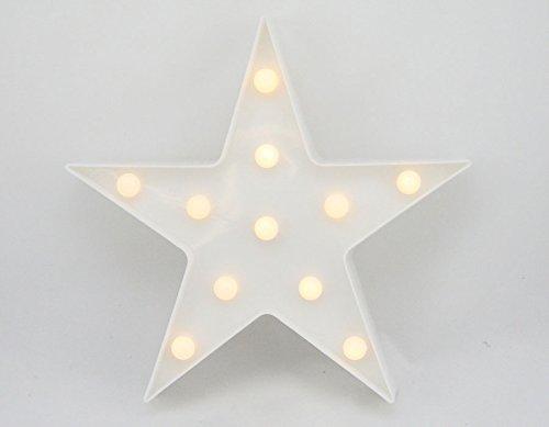 LED Estrella luminosa Navidad decoración Christmas estrellas luz blanca cálida