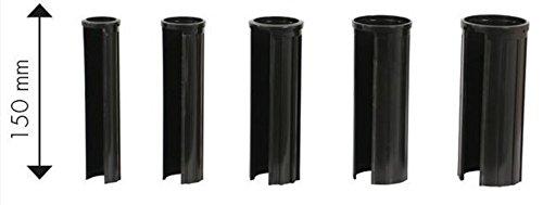 Doppler XXL 15 cm Granitsockel-Reduzierringe Innendurchmesser 25, 32, 38, 48 und 52 mm, schwarz...