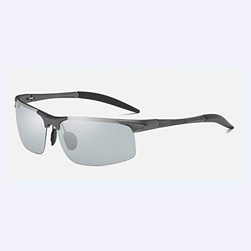 Getwli Photochrome sonnenbrille männer polarisierte aluminium magnesium farbwechsel sonnenbrille tag nacht fahren chamäleon sonnenbrille spiegel