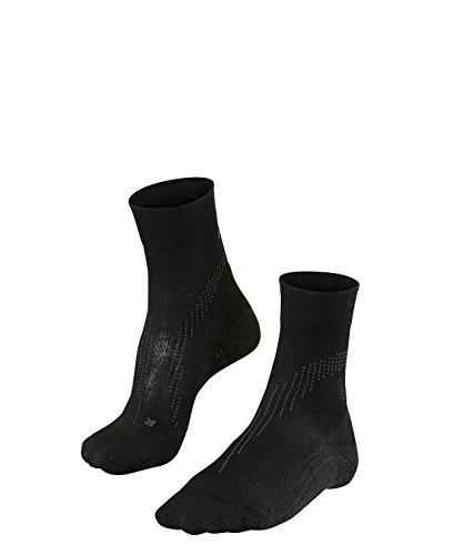 FALKE Damen Laufsocken Stabilizing Cool, Sport Performance Material, 1 Paar, Schwarz (Black 3000), Größe: 39-40