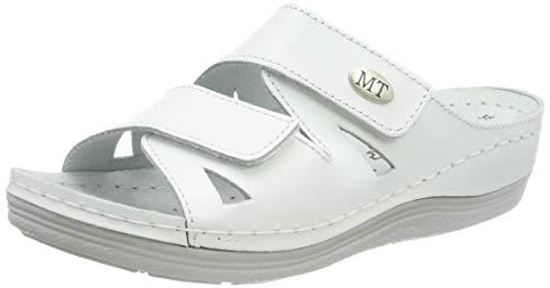 MARCO TOZZI Damen 2-2-27512-22 Pantoletten, Weiß (White 100), 40 EU