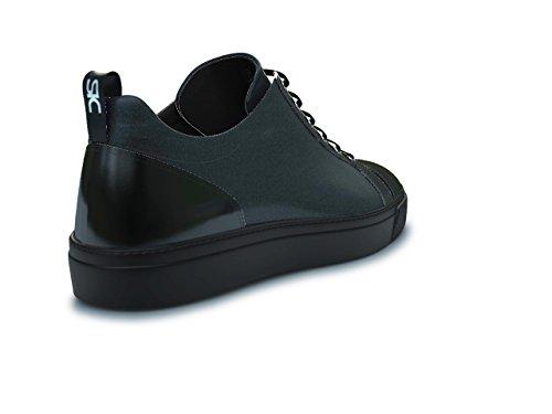 DIS - Pietro - Sneakers Basses - Unisexe Noir