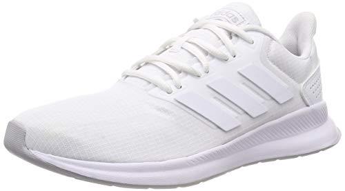 adidas Falcon Scarpe da Running Uomo, Bianco (Ftwr White/Ftwr White/Grey Two F17 Ftwr White/Ftwr White/Grey Two F17), 39 1/3 EU