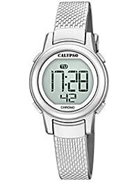 Calypso Reloj Digital para Mujer de Cuarzo con Correa en Plástico K5736/1