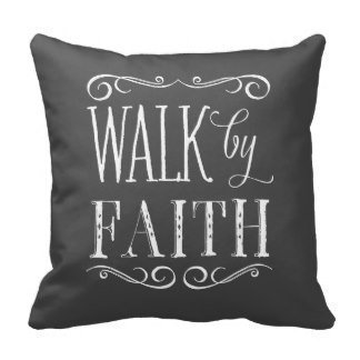 Creative Fashion Square Decorative Throw Pillow Cover Walk By Faith Gray Accent Pillow Throw Cushion 18x 188