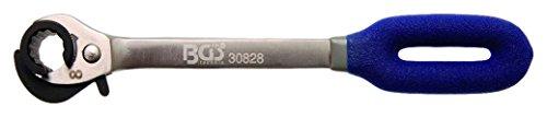 BGS 30828 | Ratschen-Ringschlüssel, offen | SW 8 mm